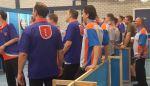 DBBR heren plaatsen zich ongeslagen voor halve finale Landelijke Competitie 2019